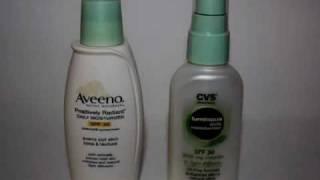 aveeno vs. store brand moisturizer Thumbnail