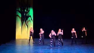 PÜG Tantsuvõistlus 2013 - 8b klass