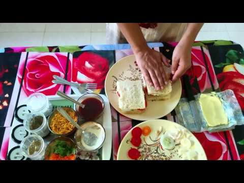 how to Lose weight fast by having healthy food vegetable sandwich