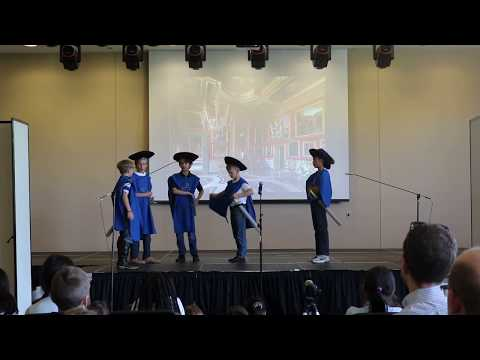 "Class Four's ""The Three Musketeers""- The Wilberforce School"