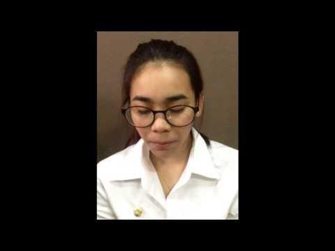 งานภาษาไทย แบบฝึกหัดการอ่านออกเสียง และ การพูดแนะนำเพื่อน