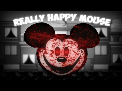 Really Happy Mouse & Suicide Mouse   2 Creepy Mickey Horror Games!