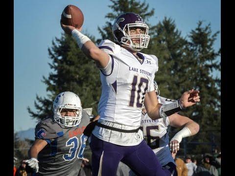 Jacob Eason, Lake Stevens roll past Graham-Kapowsin to 4A state semifinals