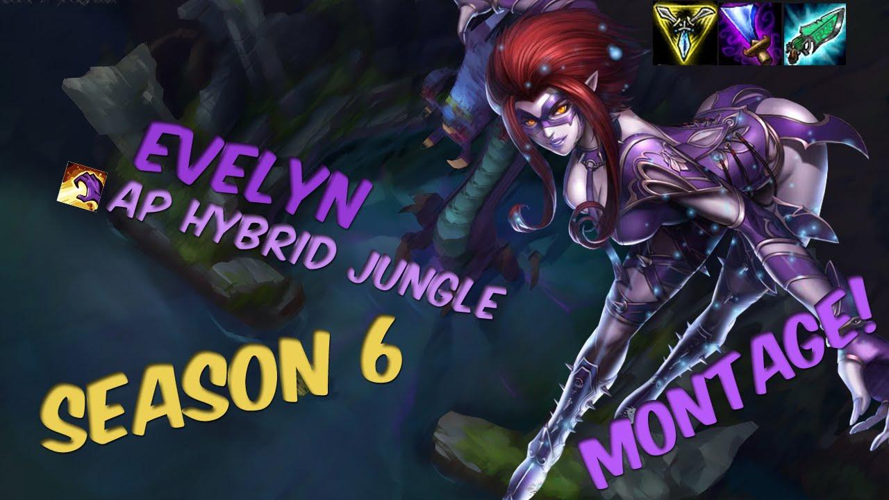 Shaco Build S7: AP/Hybrid Evelynn Jungle Season 6 Gameplay