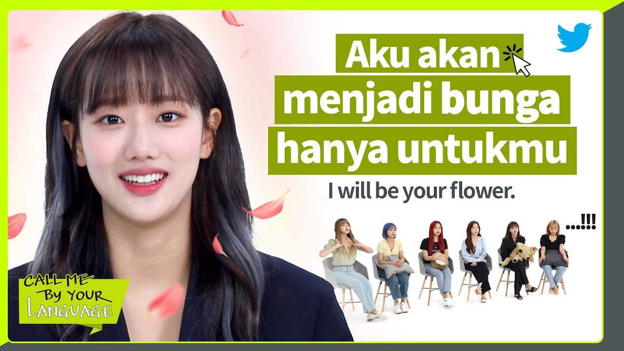 APRIL replies to fans in BAHASA INDONESIA | #CBL (CALL ME BY YOUR LANGUAGE)