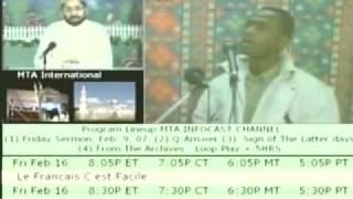 Question & Answers With Hazrat Mirza Tahir Ahmad 5{English Language}