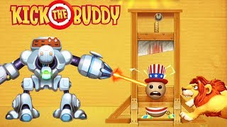 Fun With All Weapons VS The Buddy   Kick The Buddy   Android Games 2018 Gameplay   Friction Games