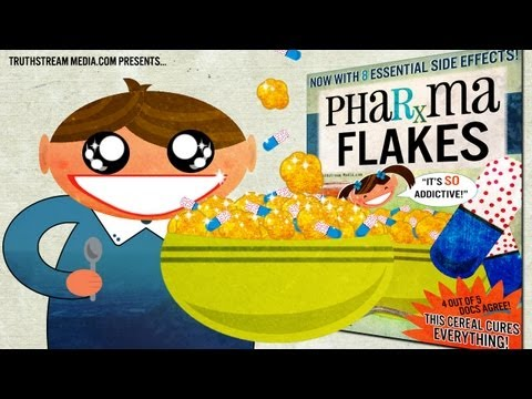 Pharma Flakes Cereal: Genetically Engineered Delicious!