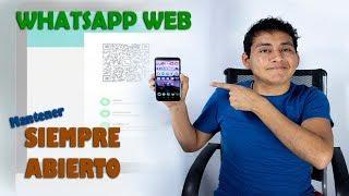 Whatsapp web se cierra solo? - Configura tu celular