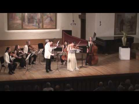 Vivaldi Concerto for Two Violins in A minor Live from Santa Fe 1/2