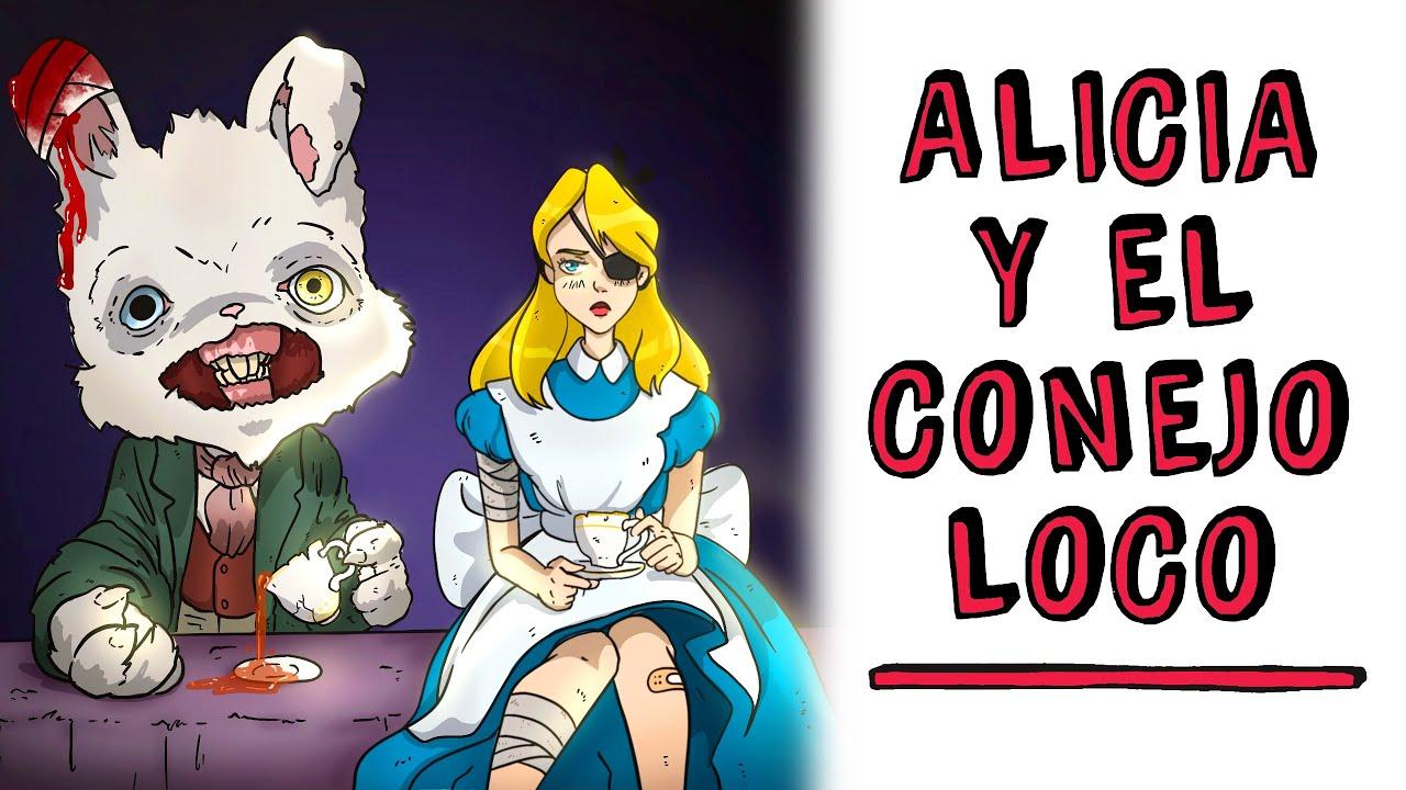 Alicia y el conejo loco 🔪 Historia de Terror Draw My Life