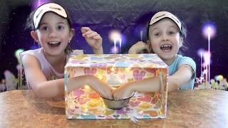 видео: ЧЕЛЛЕНДЖ НАЩУПАЙ!!/ Что в Коробке/ What's in the Box // PARTY at Alice