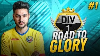 FIFA 17 ROAD TO GLORY #1 - LEGEND IN A PACK & STARTER SQUAD - FIFA 17 ULTIMATE TEAM RTG