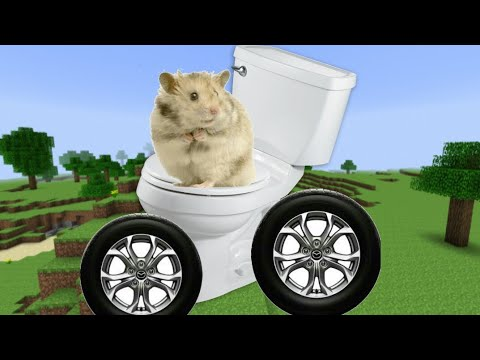minecraft ep3 hamster in a toilet car youtube. Black Bedroom Furniture Sets. Home Design Ideas