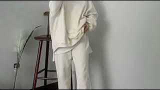 기모트레이닝세트/엠미/커플트레이닝복