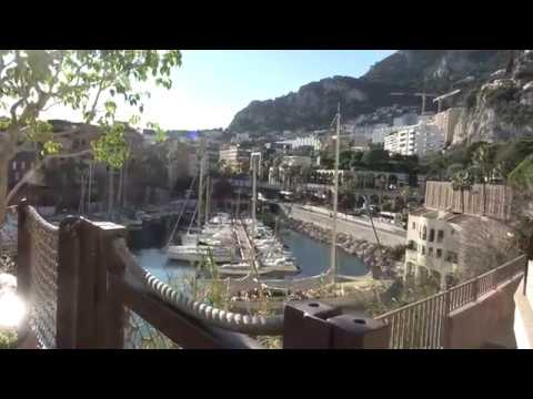 View from Zoological Garden Monaco 2017