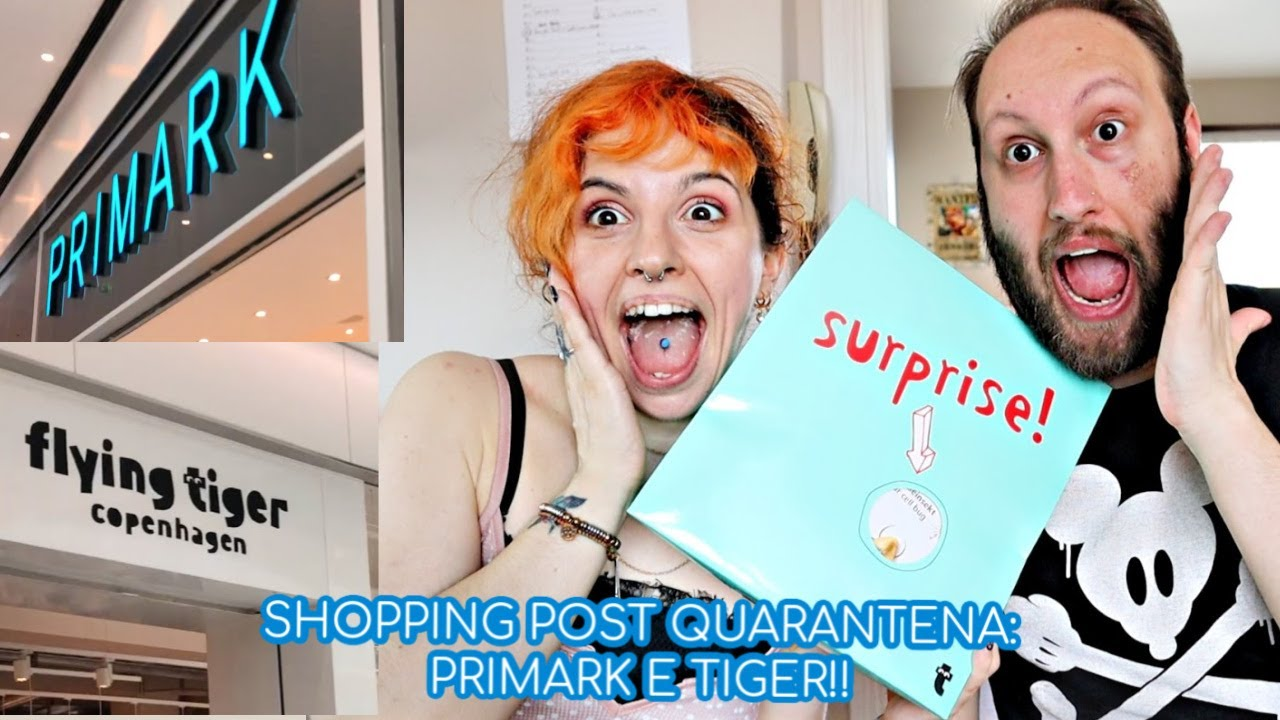 VLOG: PRIMO SHOPPING POST QUARANTENA PRIMARK E TIGER CON THBM!! | shanti's candle
