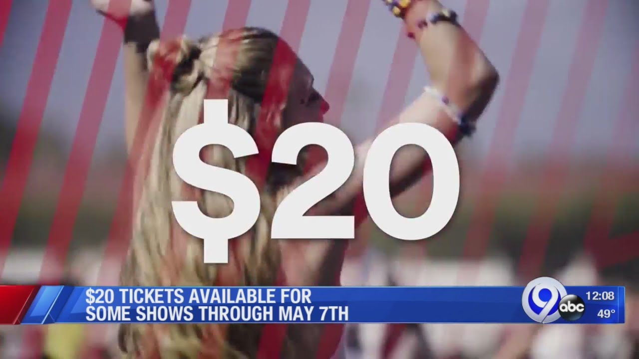 """Live Nation offering $20 """"All-In"""" amphitheater concert tickets"""