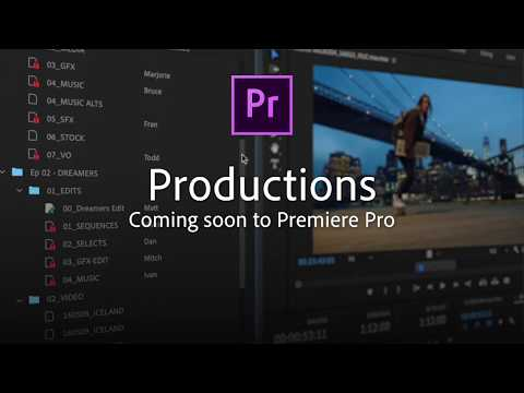 Adobe Premiere Pro teases Google Drive-like collaborative editing