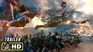 AVENGERS: ENDGAME (2019) Historic Battle - TV Spot Trailer [HD]