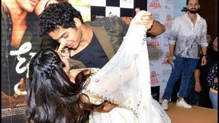 Jhanvi Kapoor And Ishaan Khattar CLOSE Dance During Dhadak Promotions