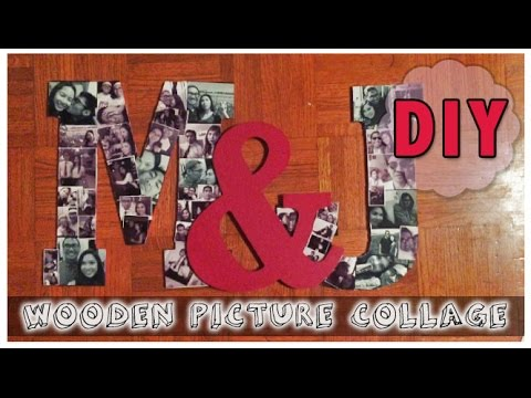 Diy Picture Collage Youtube