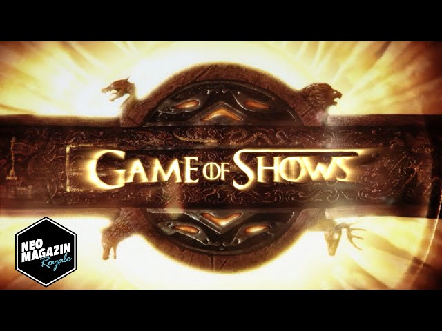 Game of Shows | Neo Magazin Royale mit Jan Böhmermann - ZDFneo