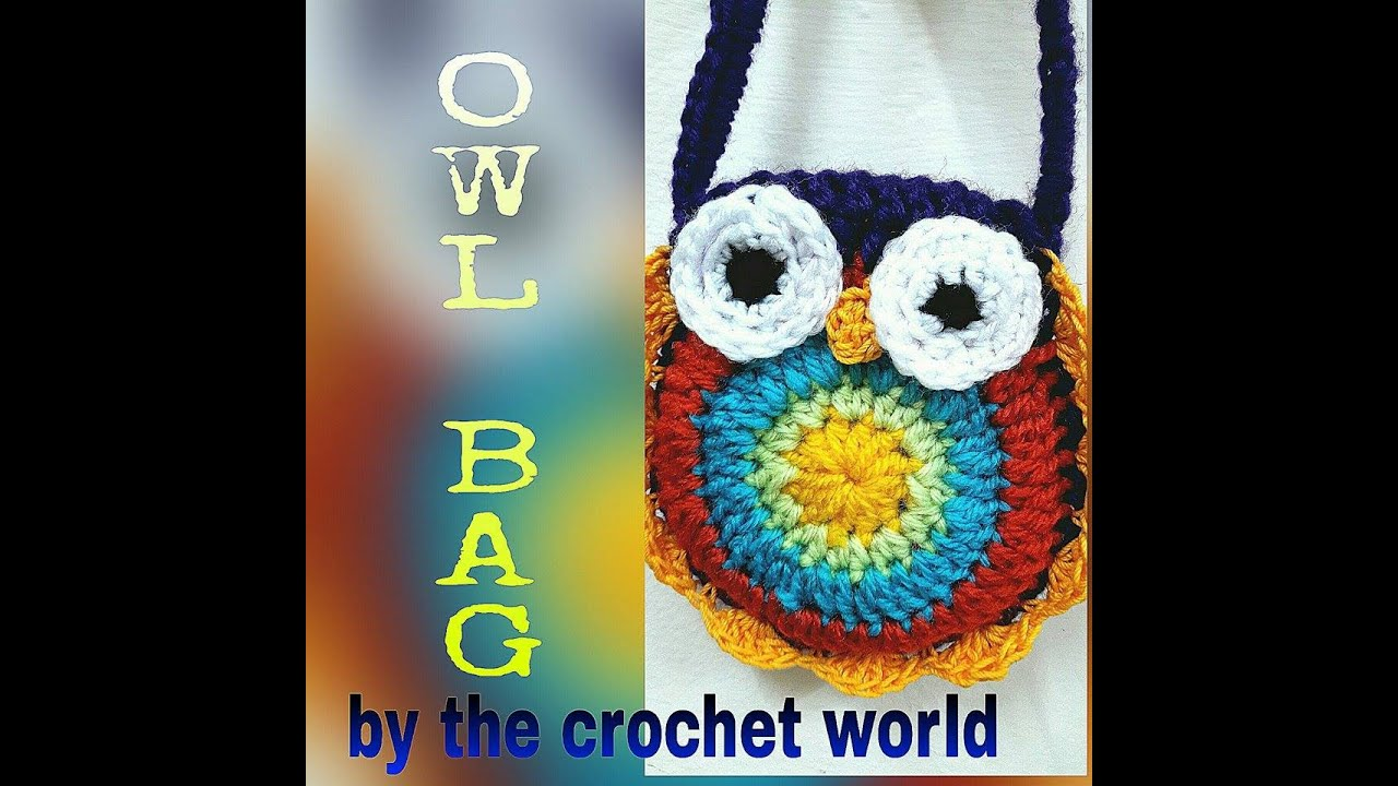 Crochet owl purse 1 youtube bankloansurffo Image collections