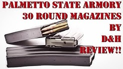 Palmetto State Armory 30 Round Magazines by D&H Review!!