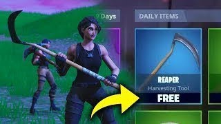 FORTNITE FREE REAPER PICKAXE