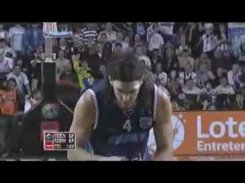 Luis Scola vs Brazil (2011 FIBA Americas championship, final)