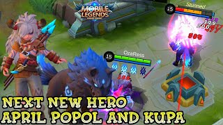 Next New Hero Popol And Kupa Gameplay - Mobile Legends Bang Bang