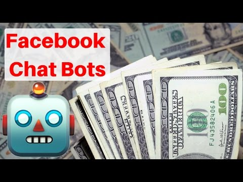 🤖 Facebook Chatbot 🤖 How to use Facebook Messenger Chatbot to Turn your Facebook Page into an ATM
