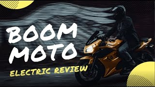 Boom Moto Review (electric motorcycle)