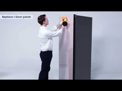 DA ¿Cómo se instalan los páneles en el Refrigerador BESPOKE?   Samsung
