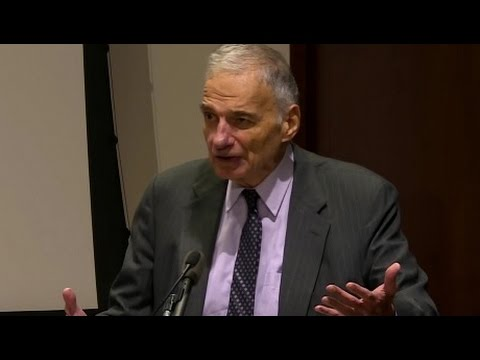 Breaking Through Power: Ralph Nader on Overcoming Civic Apathy