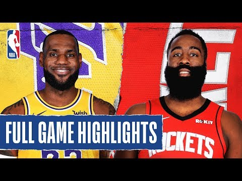 LAKERS at ROCKETS | FULL GAME ...