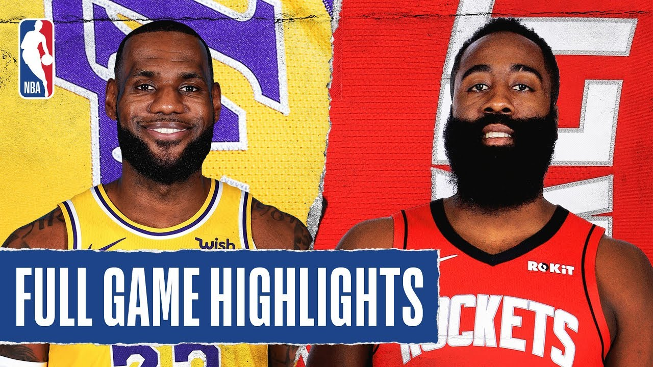 How to Watch Rockets vs. Lakers