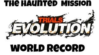 Trials Evolution The Haunted Mansion World record