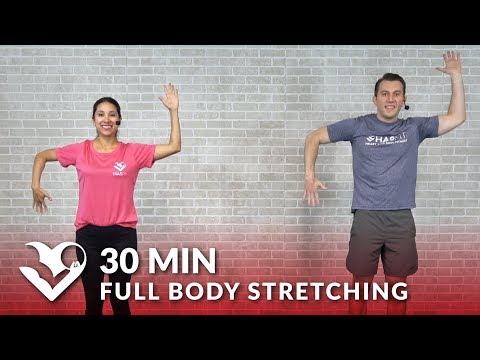 30 Minute Full Body Stretch Routine Total Body Stretching Exercises & Flexibility Stretches