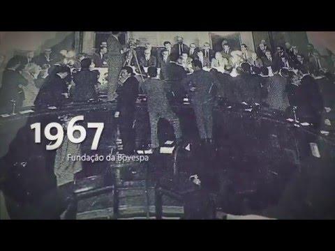 Historia da Bolsa - BM&FBovespa