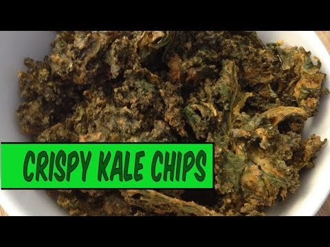 How to Make Kale Chips in an Oven | The Vegan Zombie