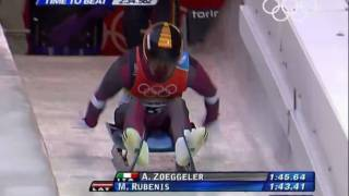 Luge - Men's Singles - Turin 2006 Winter Olympic Games