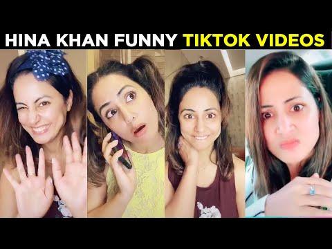 Hina Khan Latest Funny TikTok Videos