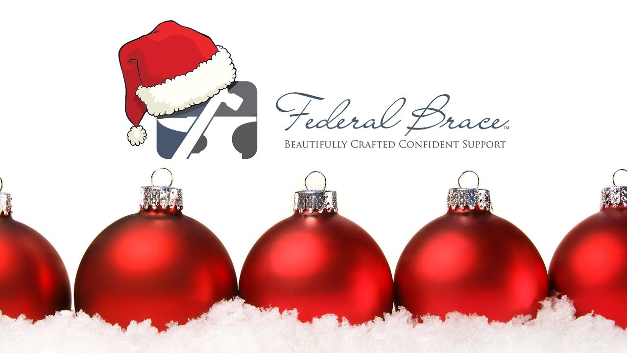 Merry Christmas & Happy Holidays from Federal Brace! - YouTube