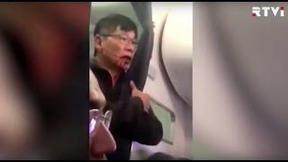 United Airlines принесла извинение  за инцидент с пассажиром, которого силой вынесли из самолета