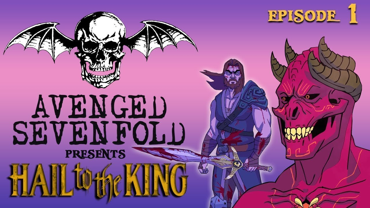 Hail To The King Deathbat The Animated Series Episode 1 Youtube