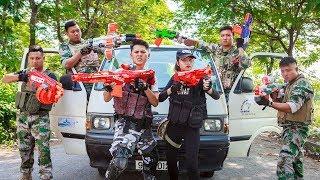 LTT Nerf War : Mission Dangerous SEAL X Warriors Nerf Guns Fight Attack Criminal Group