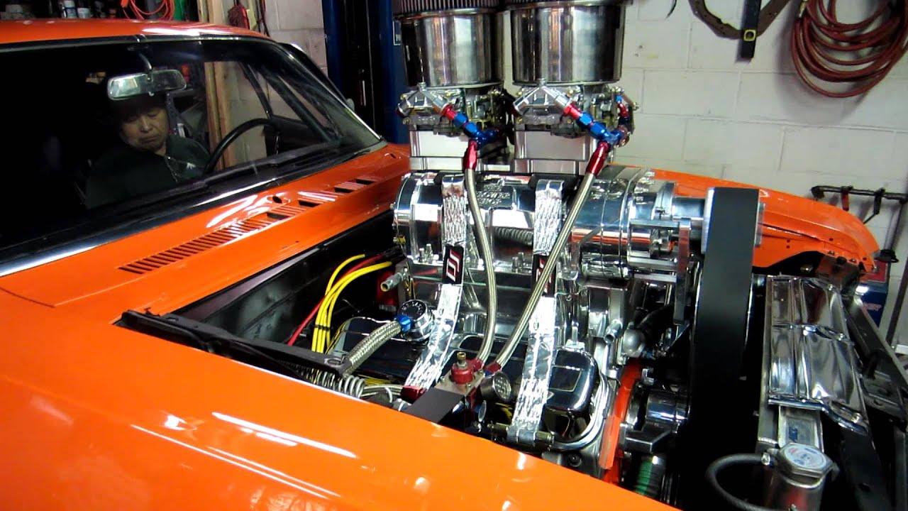 E85carbs 468 Blower Motor In La's 1968 Nova First fire in ...
