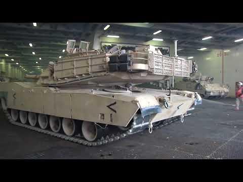 1st Armored Brigade Combat Team, 1st Cavalry Division ramp down port operations B-Roll, VAN, BELGIUM
